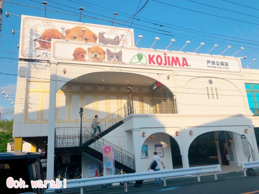 ペットのコジマ戸田公園店